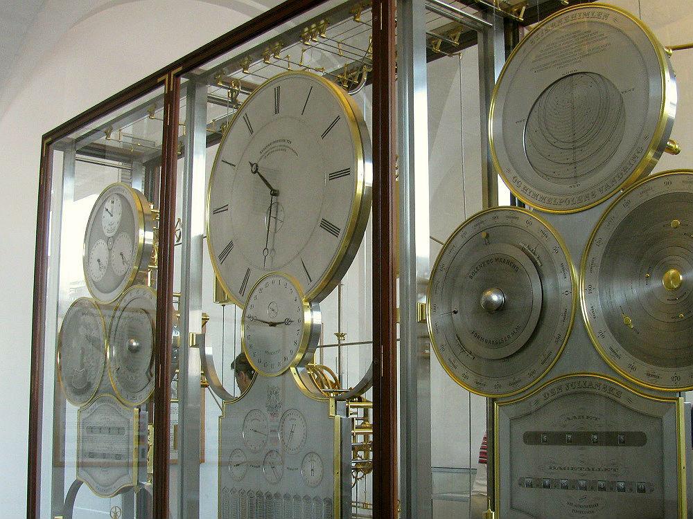 De astronomische klok in het Stadhuis te Kopenhagen