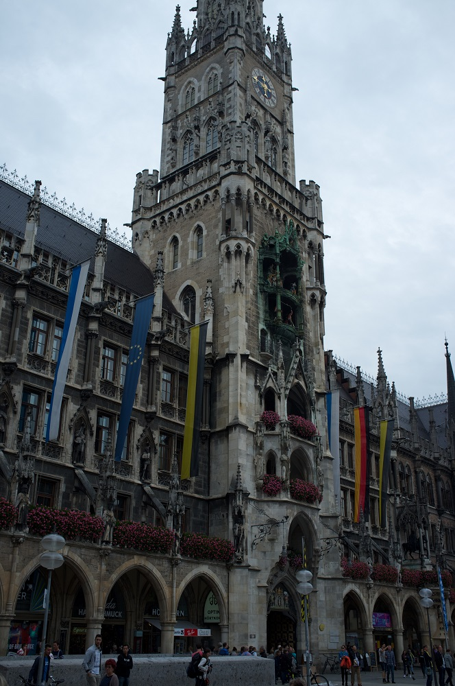 Neues Rathaus te München
