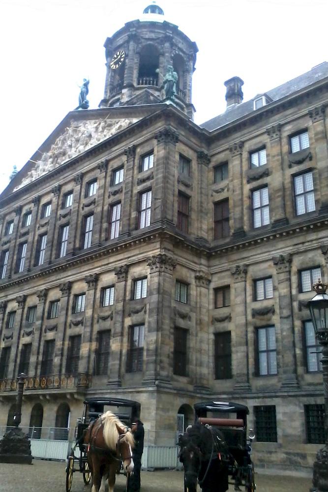 Het Koninklijk Paleis op de Dam te Amsterdam