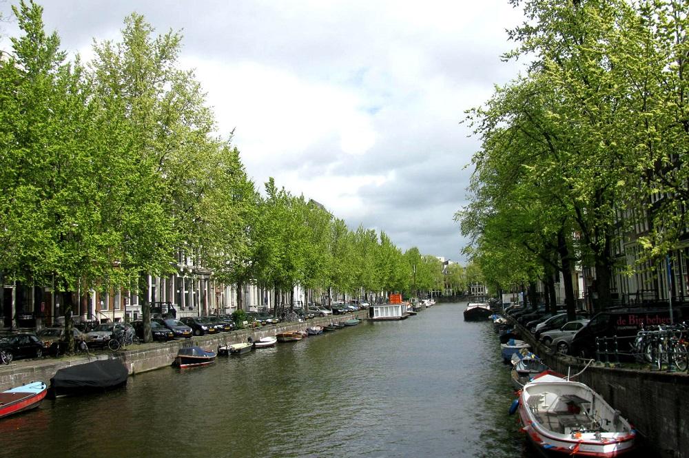 De Herengracht te Amsterdam