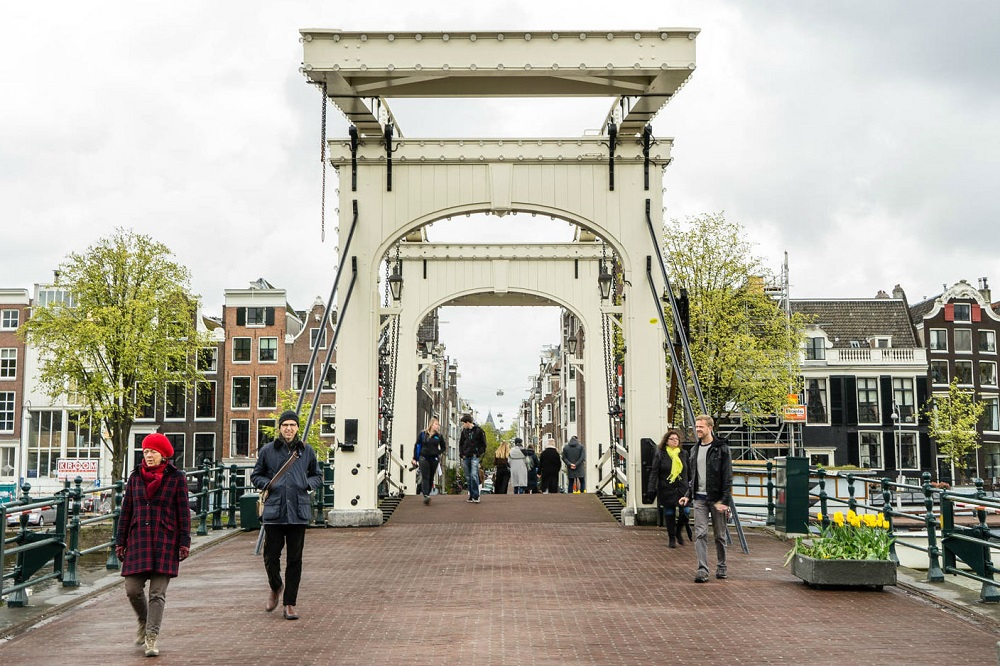 De Magere Brug te Amsterdam