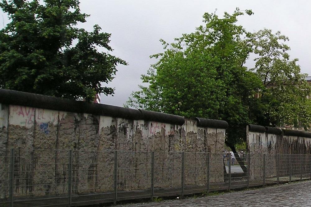 Een restant van de Berlijnse Muur te Berlijn