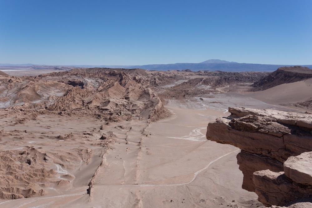 Bijzondere landschappen in de woestijn bij San Pedro de Atacama in Chili